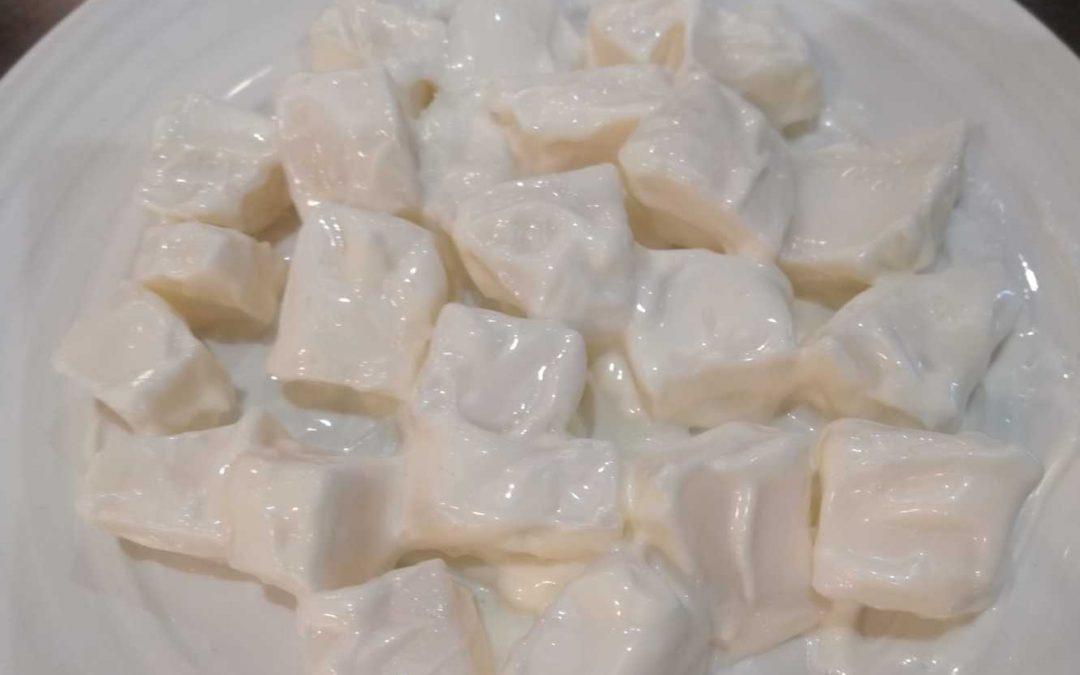 Sepia cocida con mayonesa