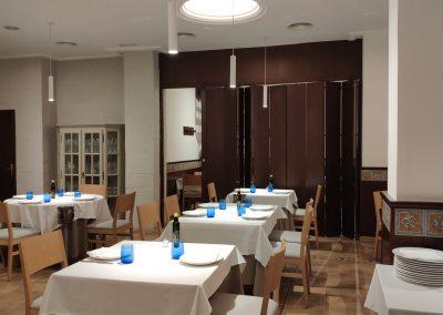 Restaurante Marisquería Islas Canarias en Valencia (salón principal)