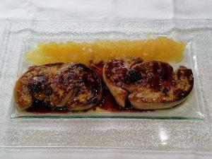 restaurante-marisqueria-valencia-islas-canarias-puerto-ocenaografic-foie-plancha-manzana