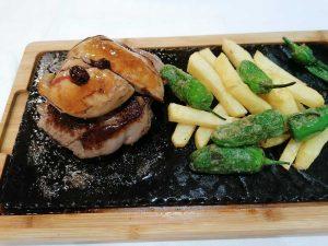 restaurante-marisqueria-valencia-islas-canarias-puerto-ocenaografic-solomillo-foie